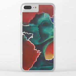 The Rising Clear iPhone Case