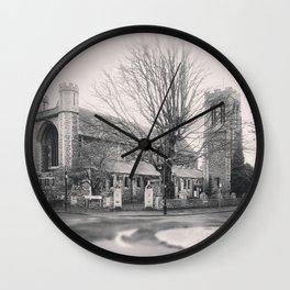 All Saints Church in Ealing Wall Clock