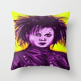 Edward Scissorhands (Johnny Depp) Throw Pillow