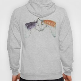 Unicorns in love Hoody