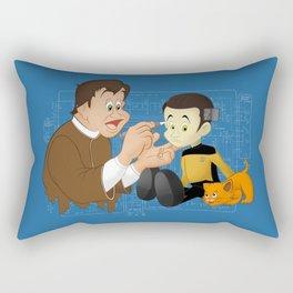 Human Hopeful  Rectangular Pillow