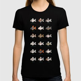 Corydoras! - black T-shirt