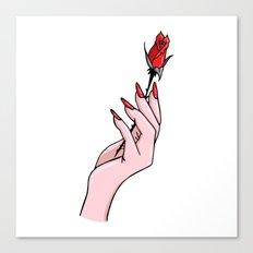 Como La Flor Canvas Print