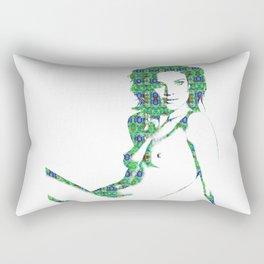 Nude: Natalia Vodianova Fashion Rectangular Pillow