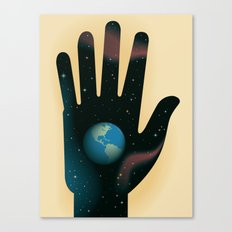 Hand of Creation Canvas Print