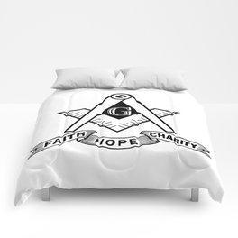 Freemasonry symbol Comforters
