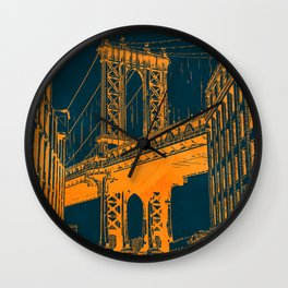 Brooklyn, NYC Wall Clock