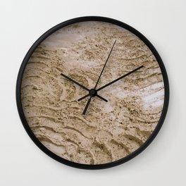 Wheel Loader Skid Marks 2 Wall Clock