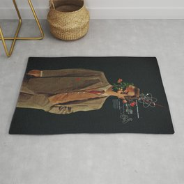 The Energy Vibrations Of Atoms Rug
