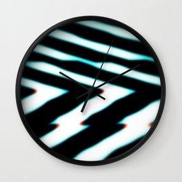 Channel Blur Wall Clock
