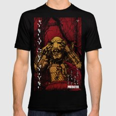 Predator (color version) SMALL Black Mens Fitted Tee