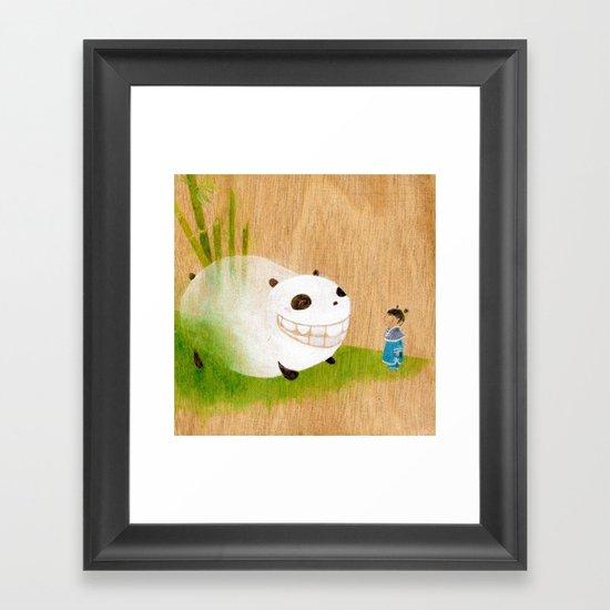 AiLiSi in wonderland Framed Art Print