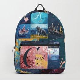 A, B, Seas Backpack