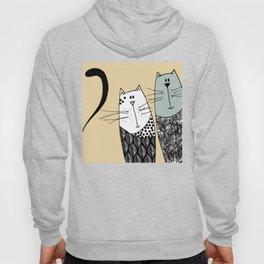 Mr & Mrs Cat Hoody