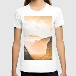 Yosemite Valley Burn - Sunrise T-shirt