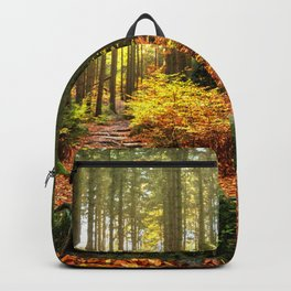 Path Through The Trees - Landscape Nature Photography Backpack
