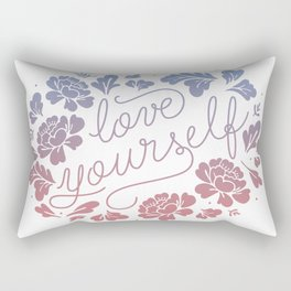 Love yourself color Rectangular Pillow