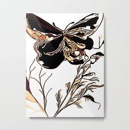 On Butterfly Wings Metal Print