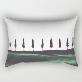 Pine Trees Rectangular Pillow