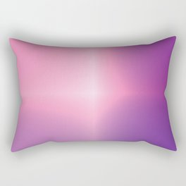 Rising Ballerina Gradient Rectangular Pillow