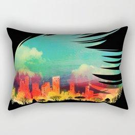In Flying Colours Rectangular Pillow