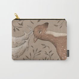 The Fallow Deer and Oats Carry-All Pouch