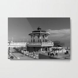 Victorian Bandstand at Brighton Beach Metal Print