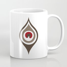 Peacock Feather II Coffee Mug