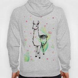Llama Love Hoody