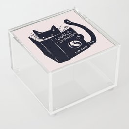 World Domination For Cats Acrylic Box