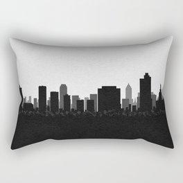 City Skylines: Tulsa Rectangular Pillow