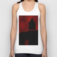V for Vendetta (e3) Unisex Tank Top