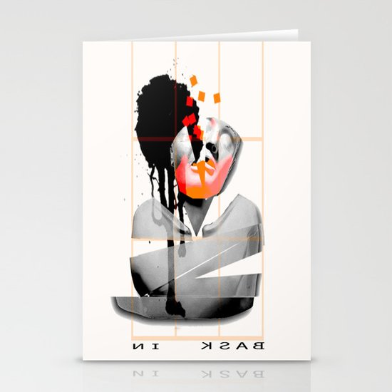 Bask In Stationery Cards