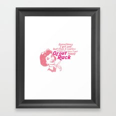 Great Rack Framed Art Print