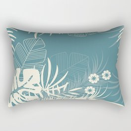 Tropical pattern 047 Rectangular Pillow