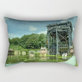 Anderton Boat Lift Rectangular Pillow
