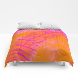 Tropical Palm Dream Comforters