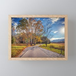 Cades Cove Framed Mini Art Print