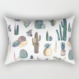 My best Cactus and Pineapples!!!! Rectangular Pillow