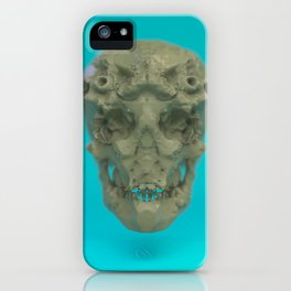 Skull Coral Reef iPhone Case