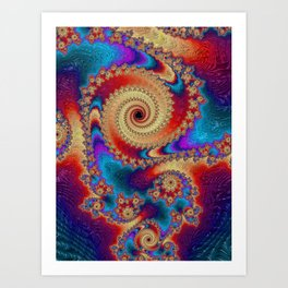 Bohemian Dream Art Print