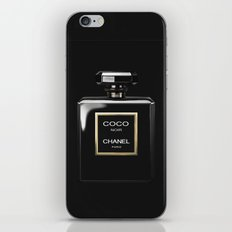 Perfume Noir Black iPhone & iPod Skin