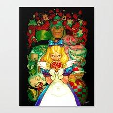 Hello Alice Canvas Print