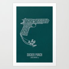 Sucker Punch Art Print
