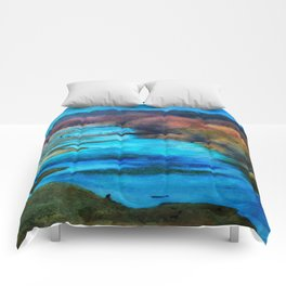 Monet's Rio Las Cruces New Mexico Comforters