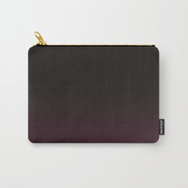 Faded Background, Burgundy, Color Change Carry-All Pouch
