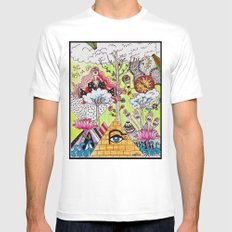 get high on life Mens Fitted Tee White MEDIUM