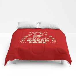 Roker Park Football Ground Comforters