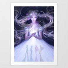 Sailor Moon Serenity Art Print