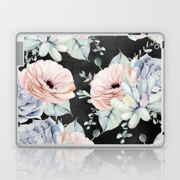 Night Succulents Laptop & iPad Skin
